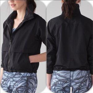 NWOT Lululemon Black Effortless Jacket